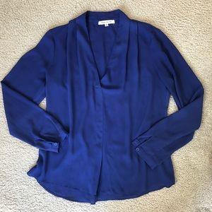 Rose + Olive Royal Blue Dress Shirt